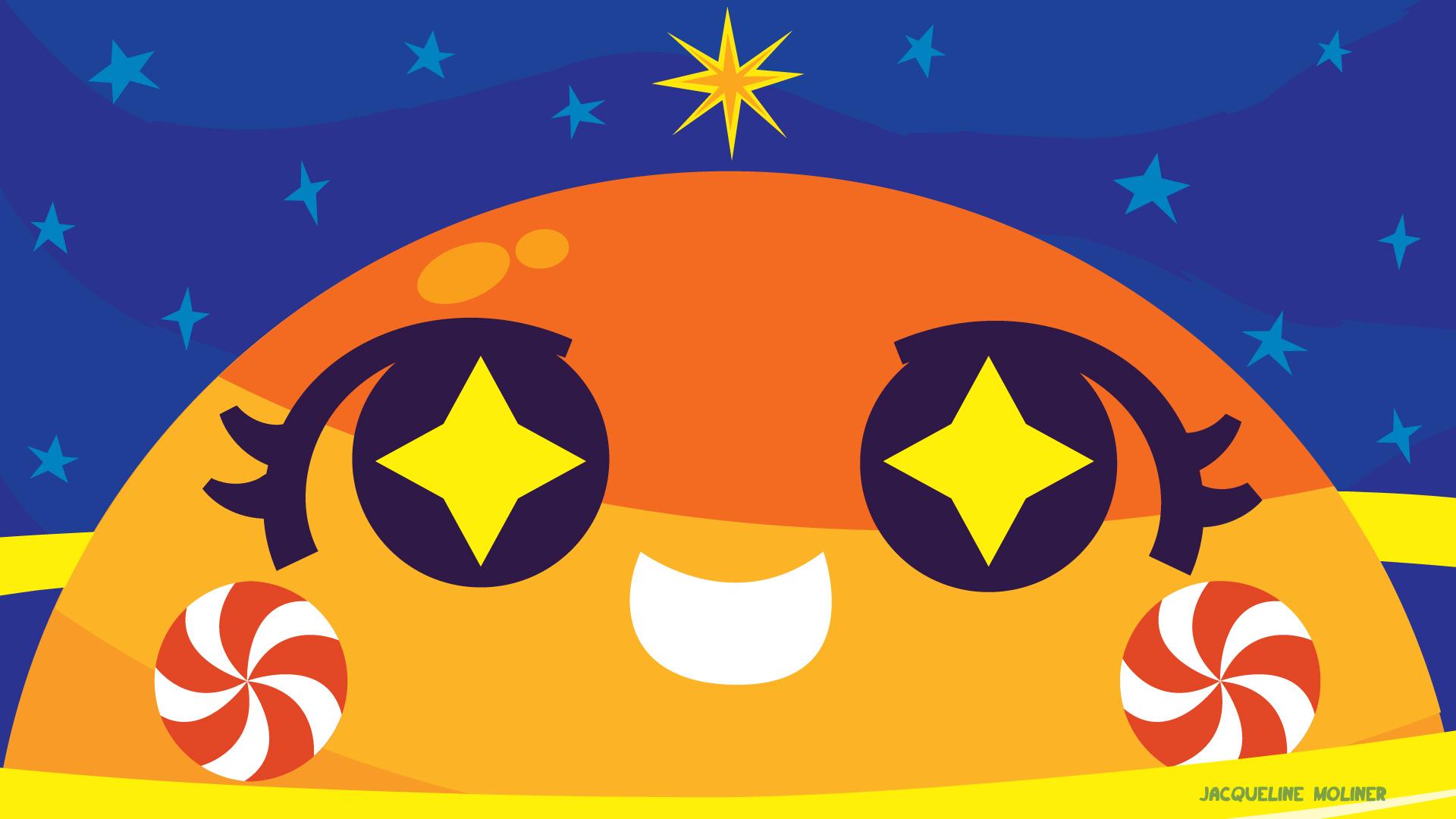 Saturn Holiday Wallpaper