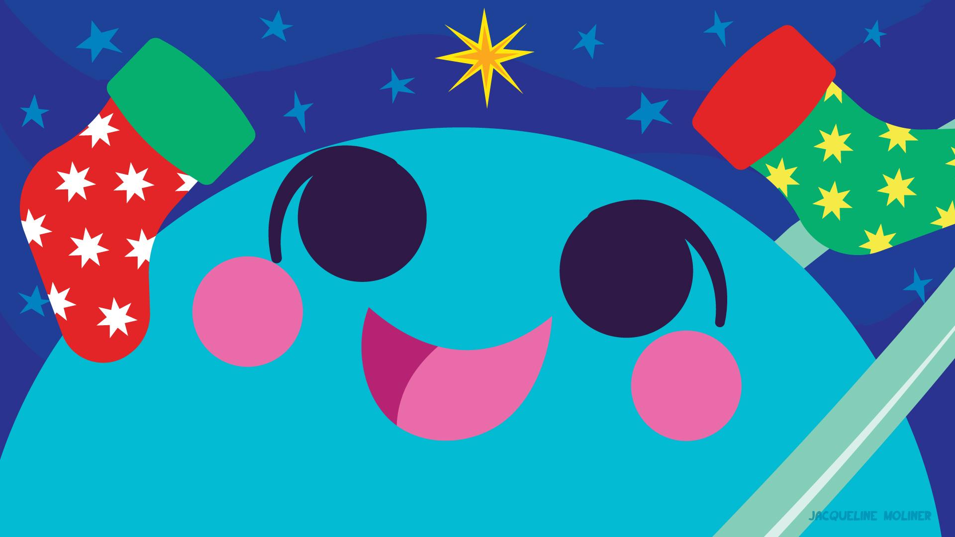 Uranus Holiday Wallpaper