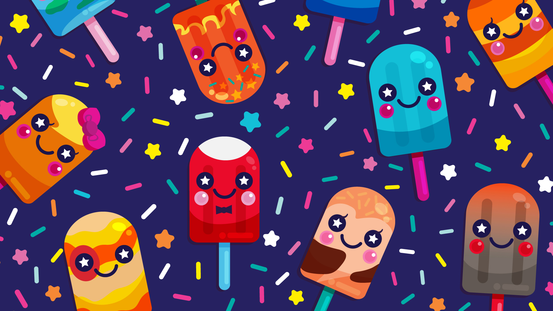 Cosmo Pops Wallpaper