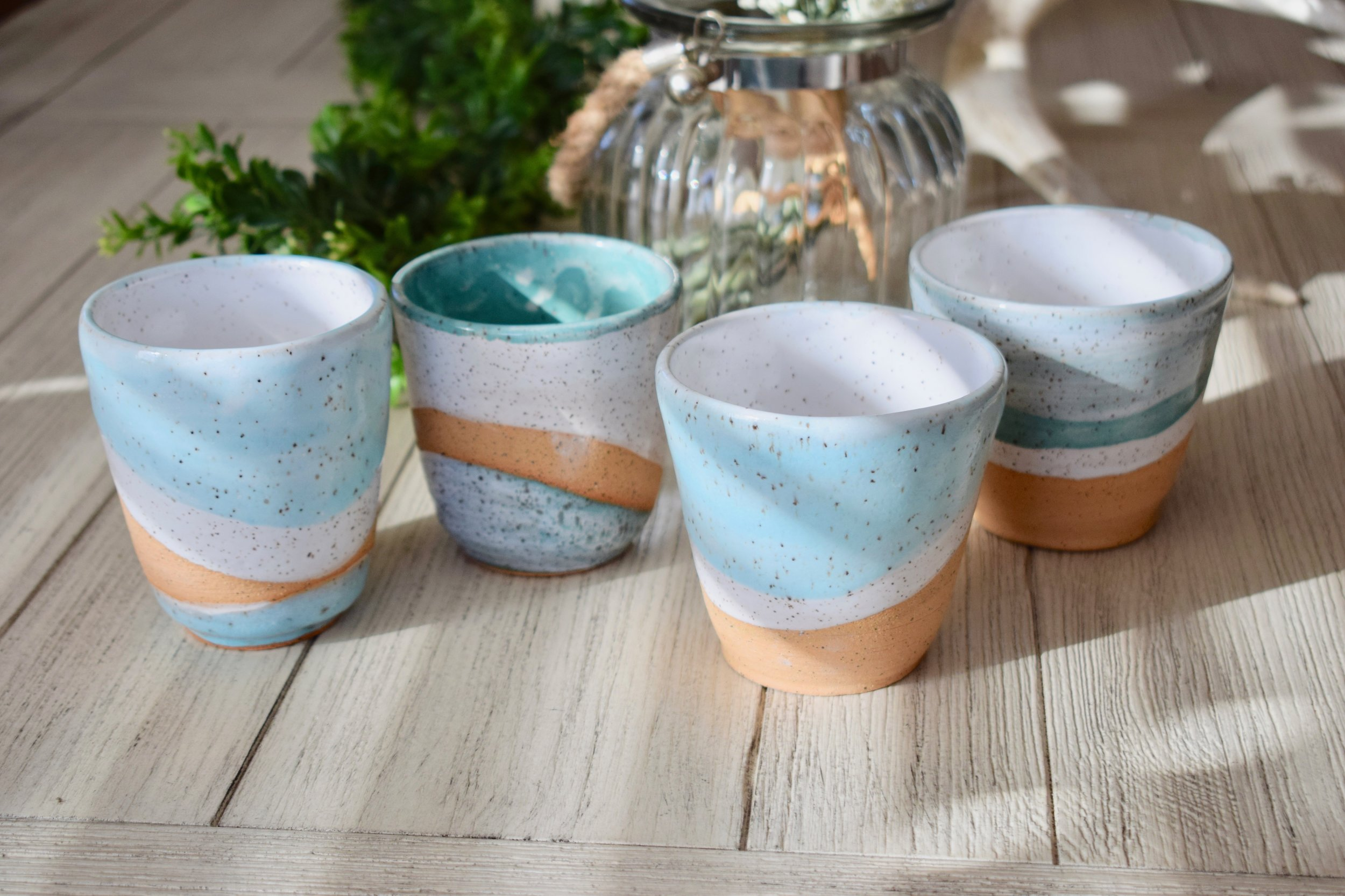 Speckled Pottery