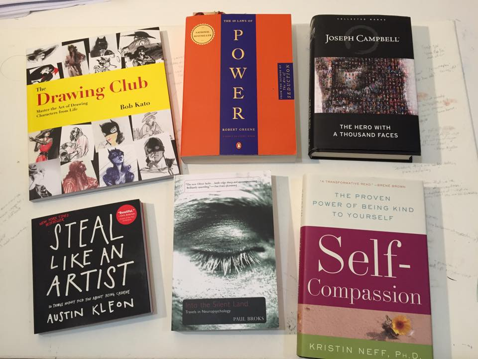 Some books I've been reading at the moment.