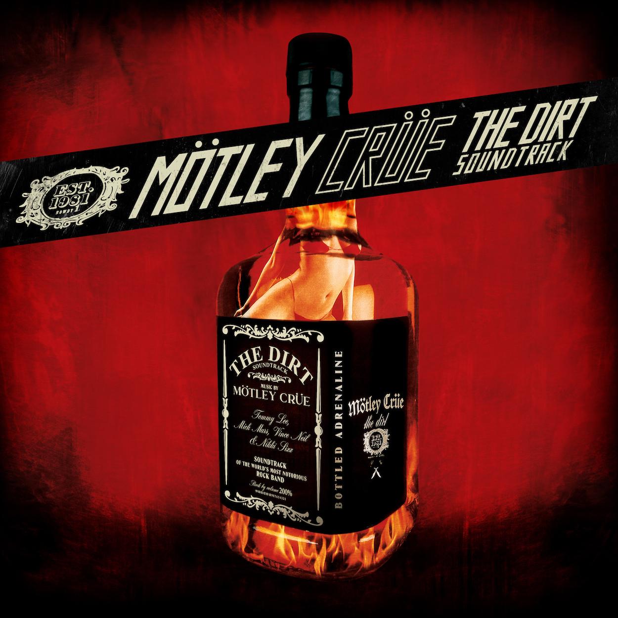 MÖTLEY CRÜE RELEASE THE DIRT MOVIE AND SOUNDTRACK — Mötley Crüe