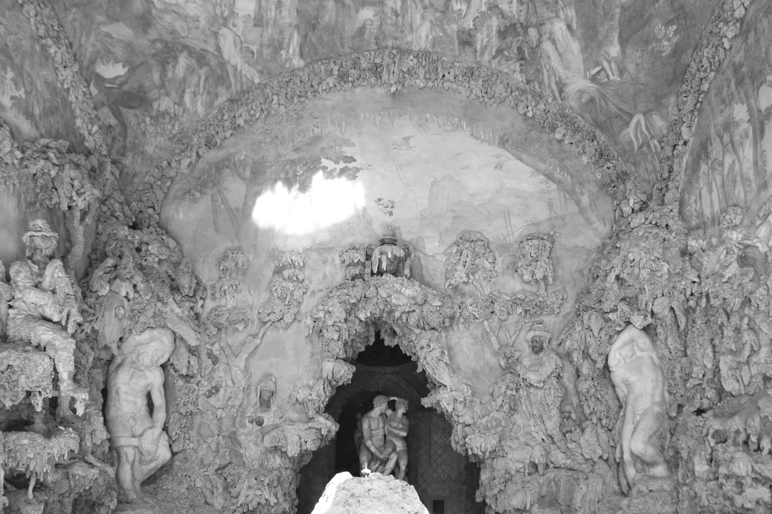 Firenze, Giardini di Boboli - Grotta del Buontalenti.