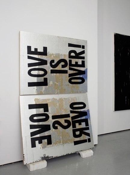 Love Is Over, diptych