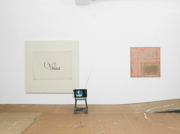 The Studio Show at David Reed Studio (Installation view)