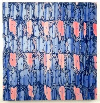 Warhol Standard 1 , egg tempera