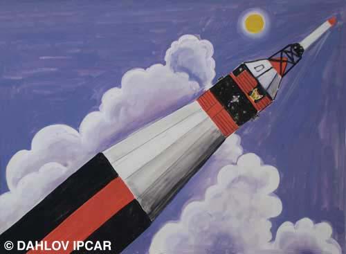 Cat in the Rocket