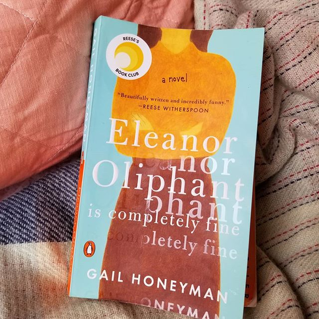 I seriously think that this is my new favourite book. It's so original and touching and human. The heroine, Eleanor Oliphant, is extremely honest,  damaged and vulnerable but oh, so quirky and ultimately lovable.  I find it hard to believe that this is Gail Honeyman's first book  Here's hoping she writes many more.  If you enjoy reading you MUST read this book.  #5stars #bookstagram #read #fiction #gailhoneyman #eleanoroliphantiscomepletelyfine
