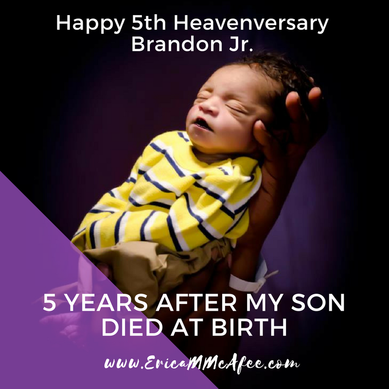 5 years after my son died at birth