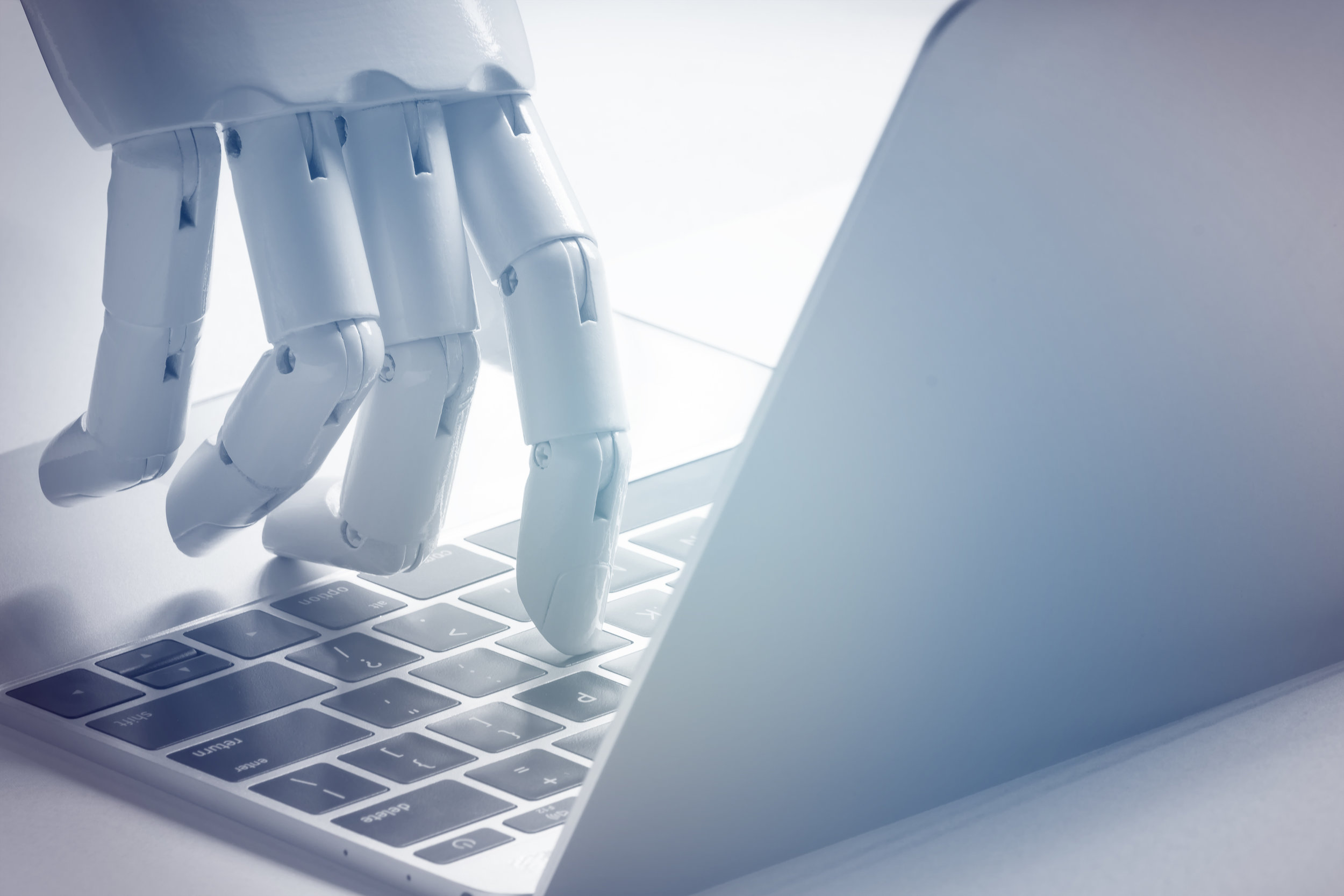 Chat bot , artificial intelligence , robo advisor , robotic concept. Source: ©zapp2photo, Adobe Stock -  FILE #:   161459463
