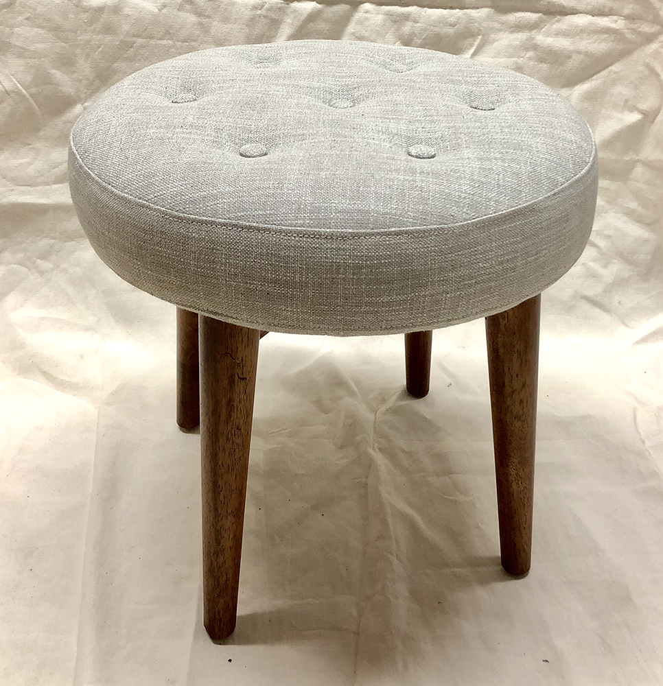 Tufted Stool - $20