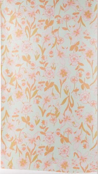Copy of Pastel Floral wallpaper