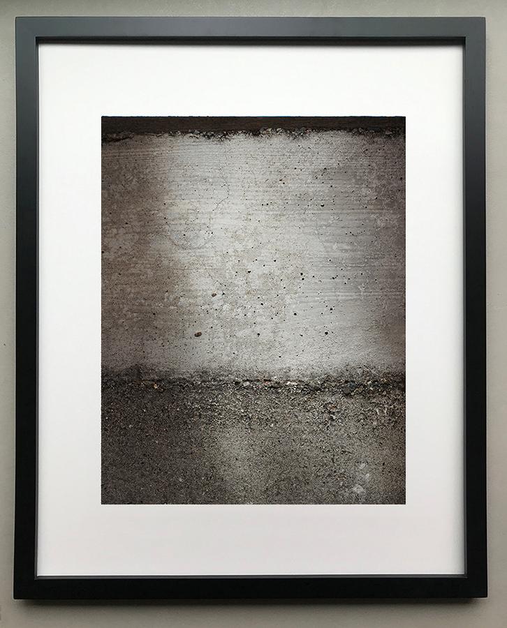 0159* - 16 X 20, Black Frame, Mat Opening 10.5 x 13.5 (White)