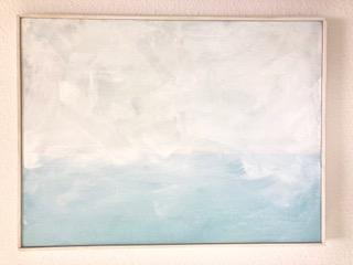 """Blue Horizon - 18"""" x 24"""" - $60/week"""