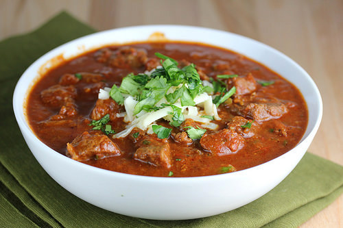 slow cooker steak lovers chili