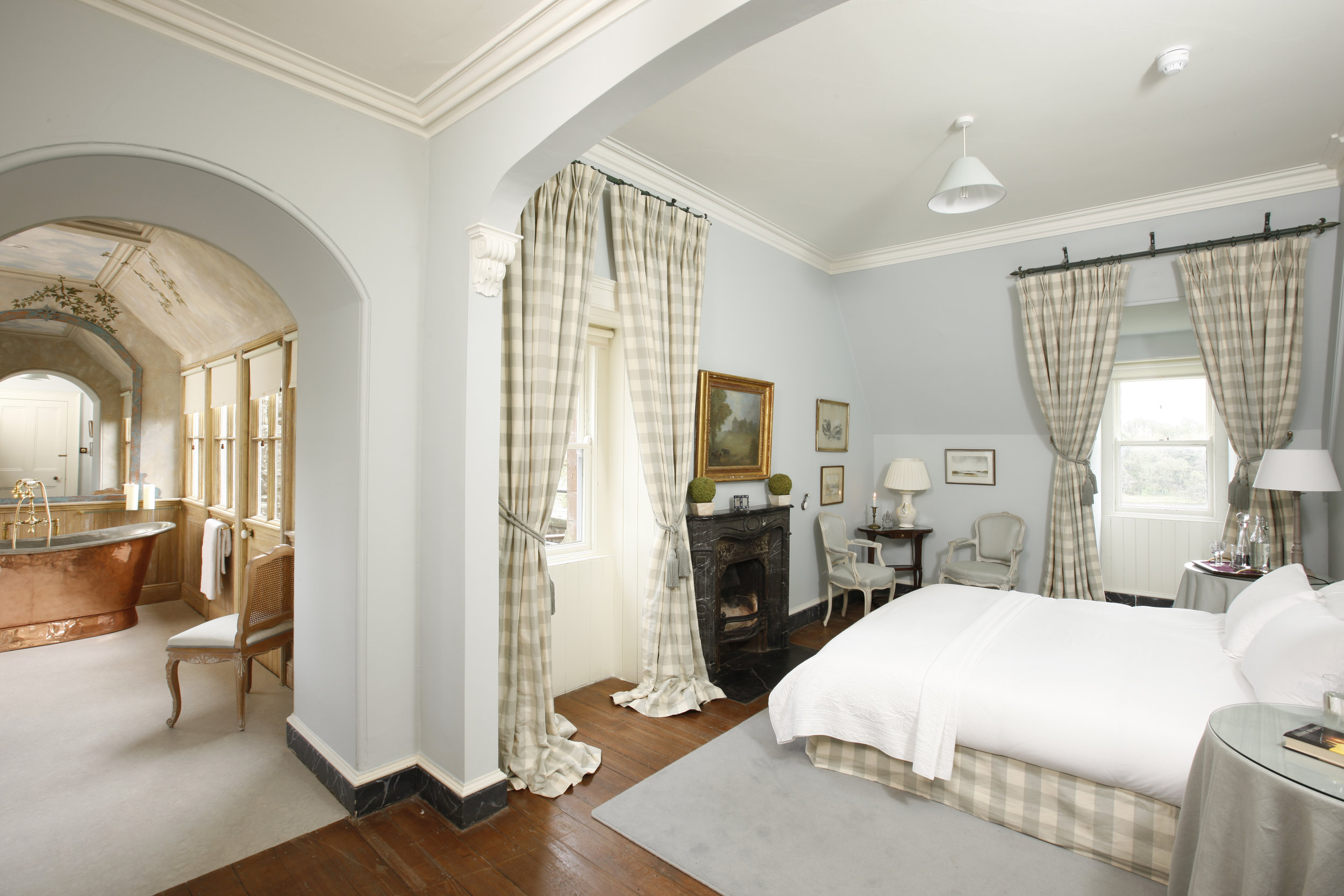 Castle Master Bedroom called The Eagles Nest.jpg
