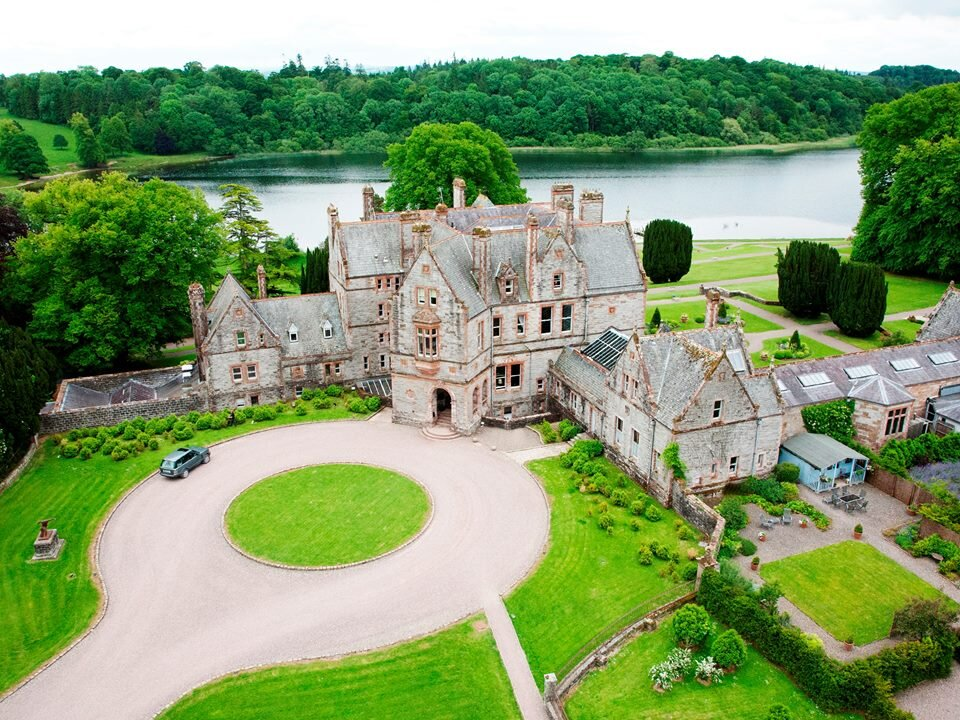 CASTLE LESLIE ESTATE - GLASLOUGH, COUNTY MONAGHAN - Nestled on 1,000 acres of undulating Irish countryside, this premier Equestrian estate is dotted with ancient woodlands and glittering lakes. Castle Leslie Estate is one of the last great Irish estates still in the hands of its founding family.