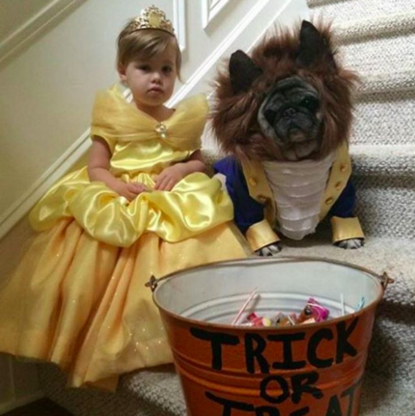 Beauty and the Beast source unknown