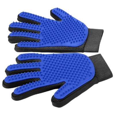 Brush Gloves For Bonding While Grooming