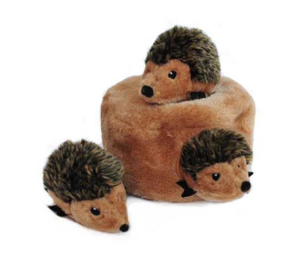 Hide and Seek Pug Toy Hedgehog