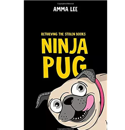 An easy read pug book for kids