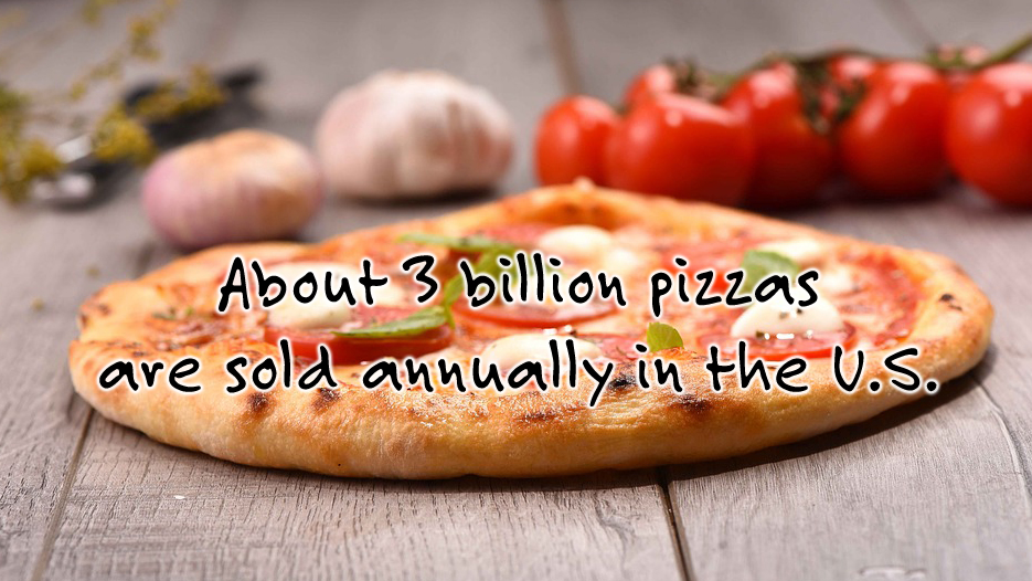 Pizza Fact: number pizzas sold
