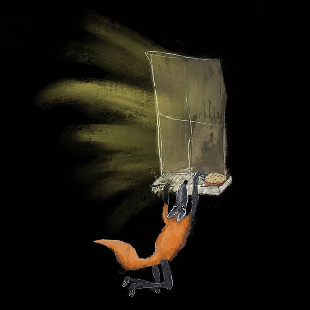 The pie thief . 🦊 . #comic #illustrationartists #childrensillustrator #childrensbook #jokes #cartoonjokes  #funnycartoon #cartoonjoke  @comics @igcomicstore #comicmeme #meme #procreate #comicstrip #illustration #illustrationdaily #cartoon #comicart  #instacomics #digitalart #kidlit #kidlitart #fox #foxtattoo #nightwildlife #pie #greatbritishbakeoff #pies #foxybrown #finnfox  @weloveillustration @children_illustrations @magical.illustrations @illustration_best @characters.design