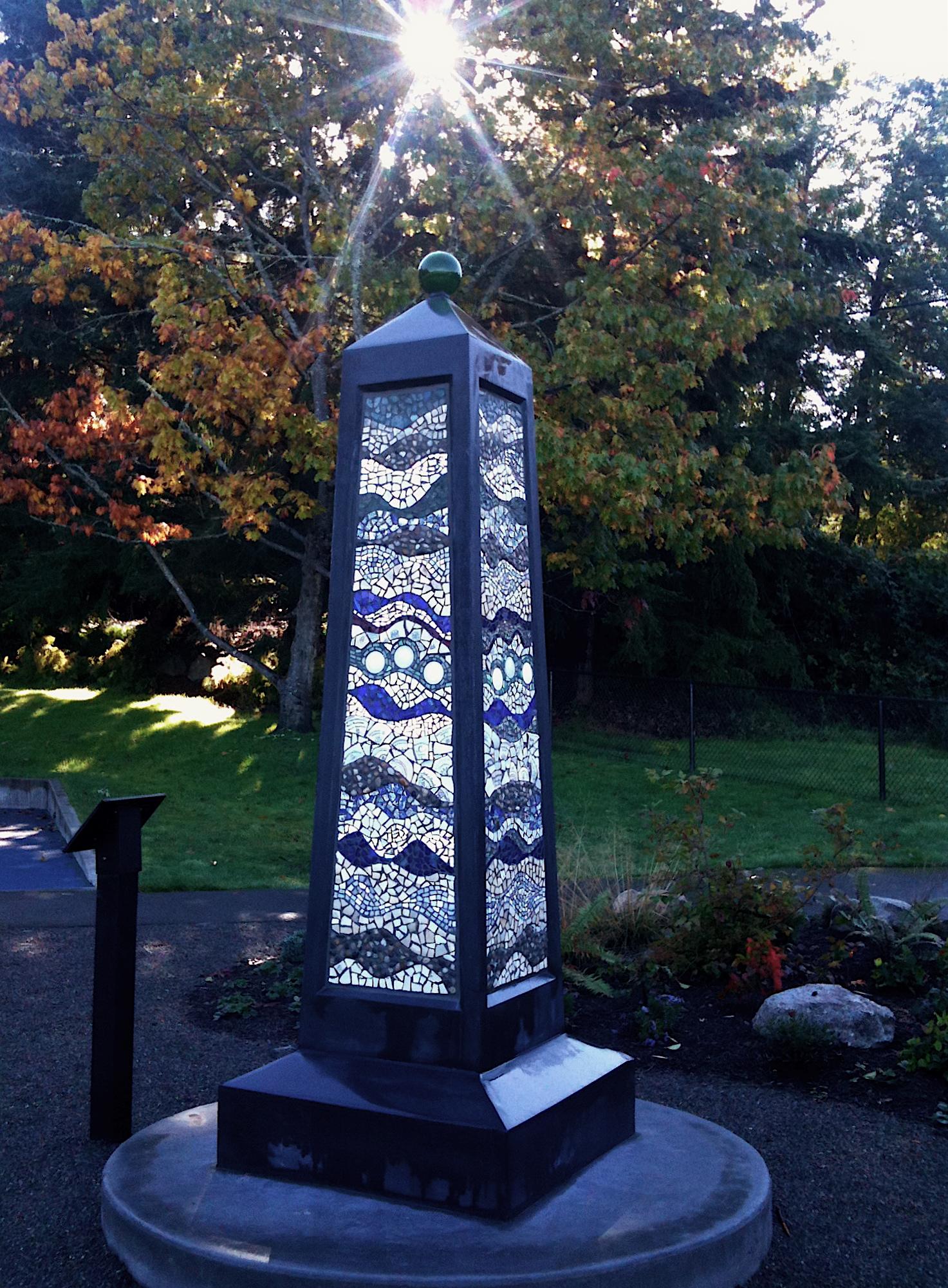 Dockton Park Obelisk