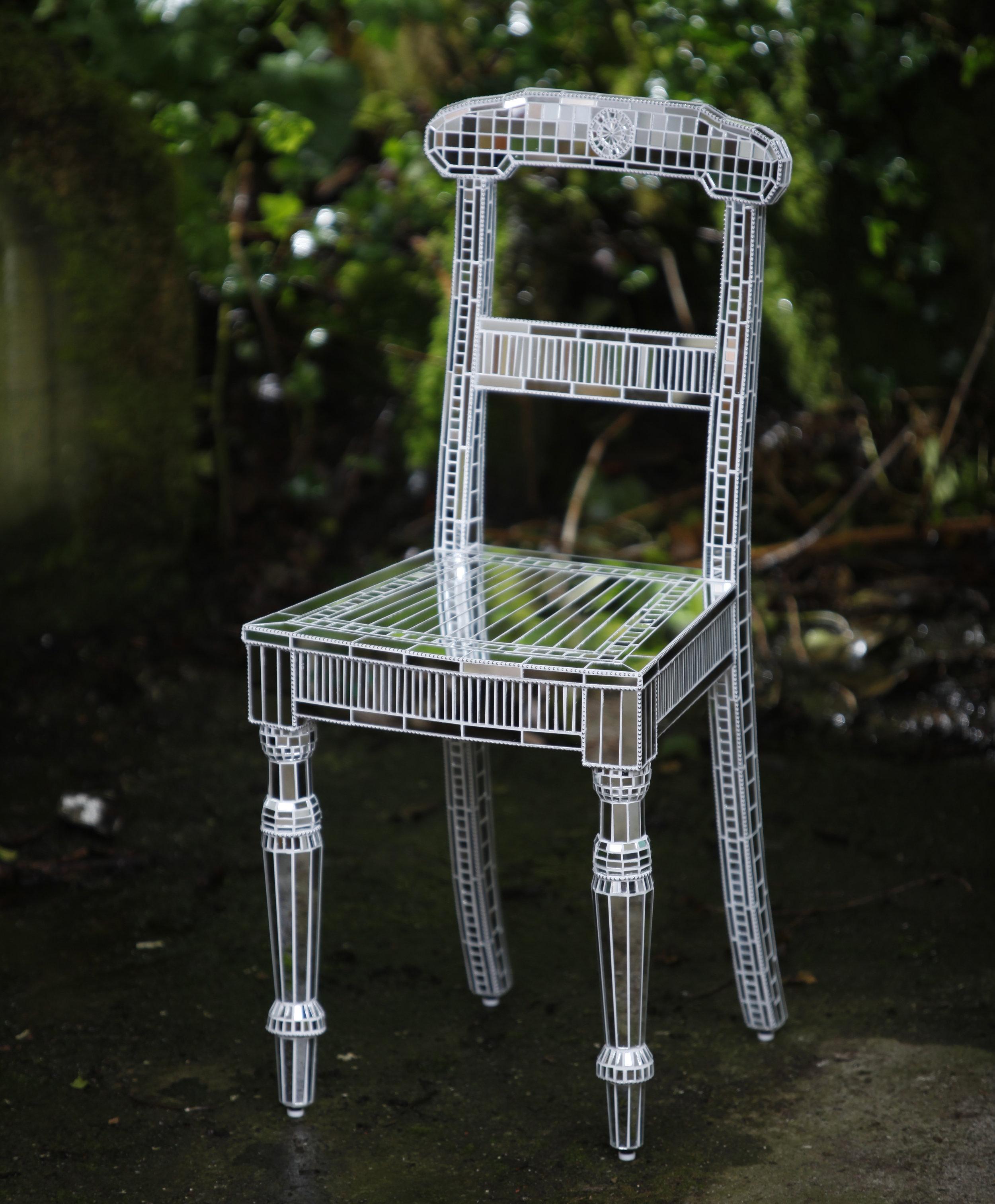 Mirror Chair, Summers & Edelstein