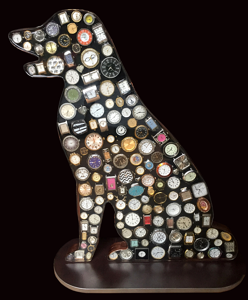 The Watch Dog, Watches in Resin