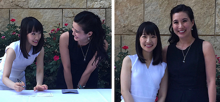 With Marie Kondo at the KonMari Certified Consultants Retreat