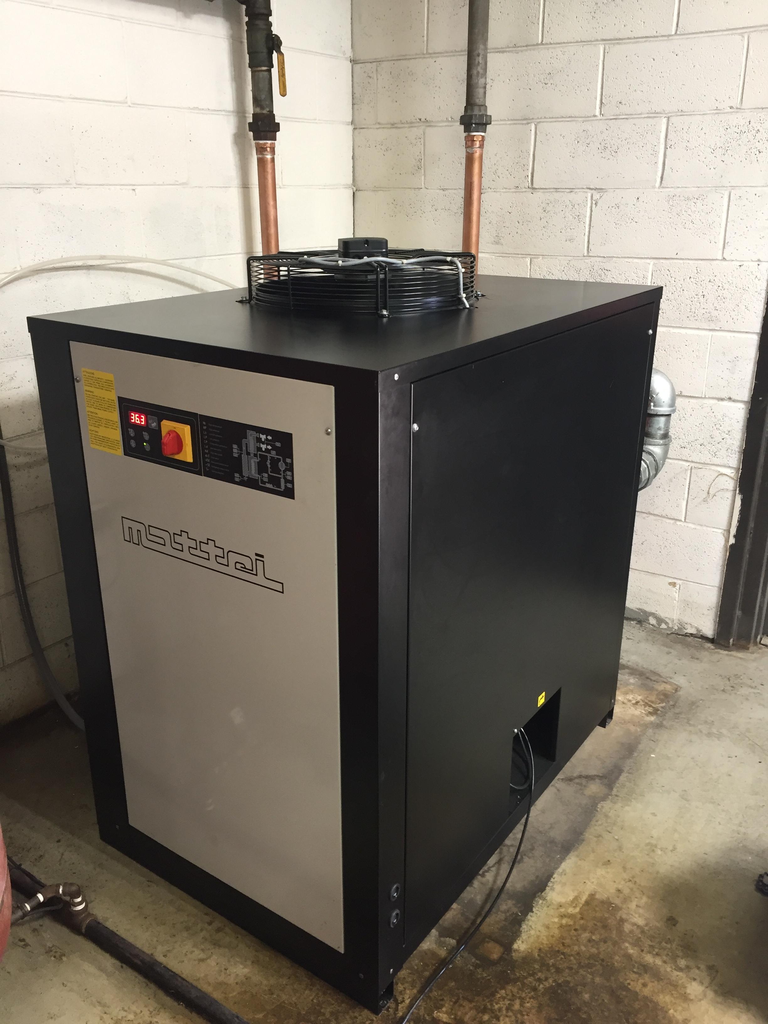 1,000 CFM Mattei air dryer