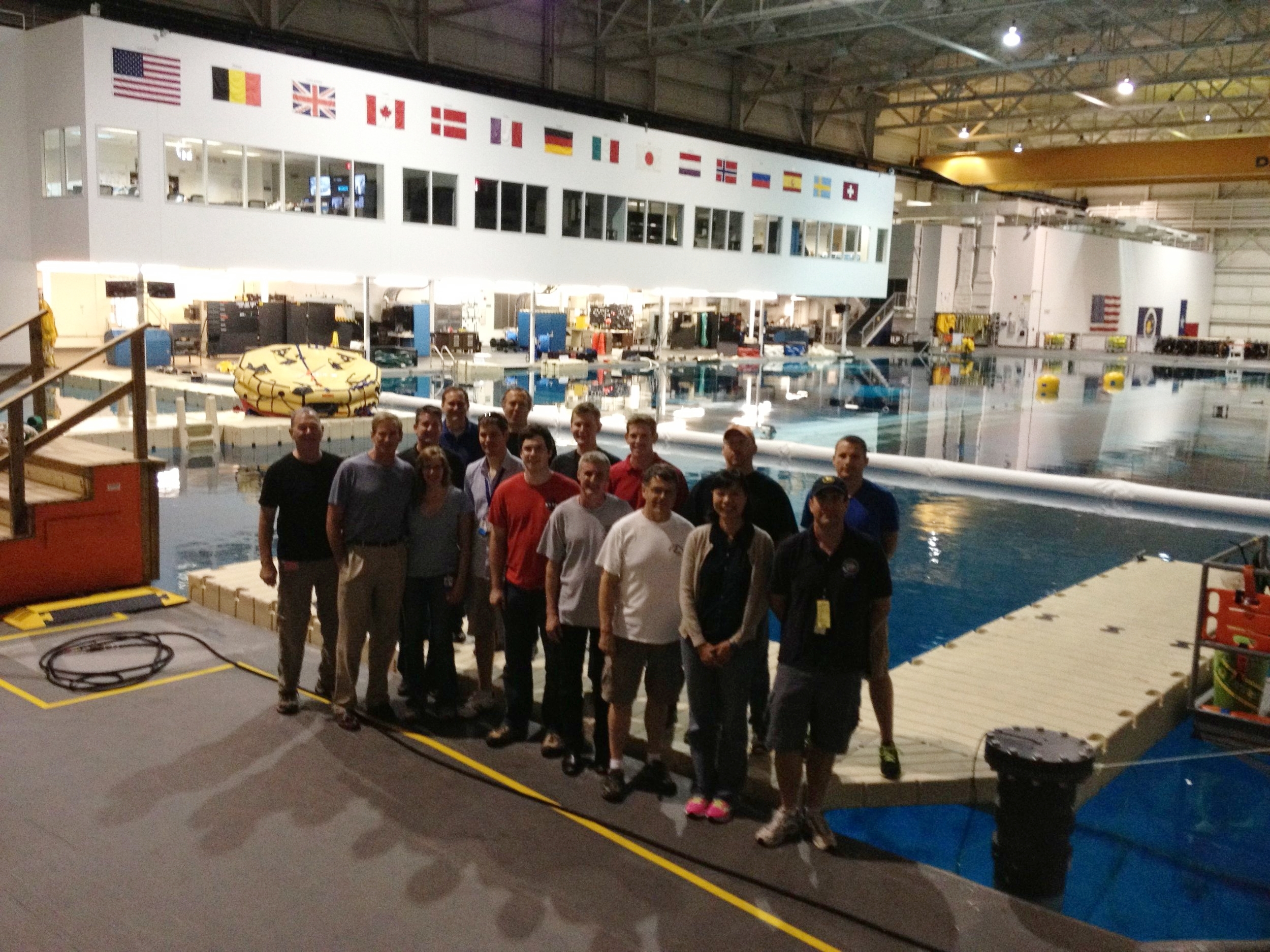 PLRP Neutral Buoyancy Lab (NBL) Ops Test, Houston