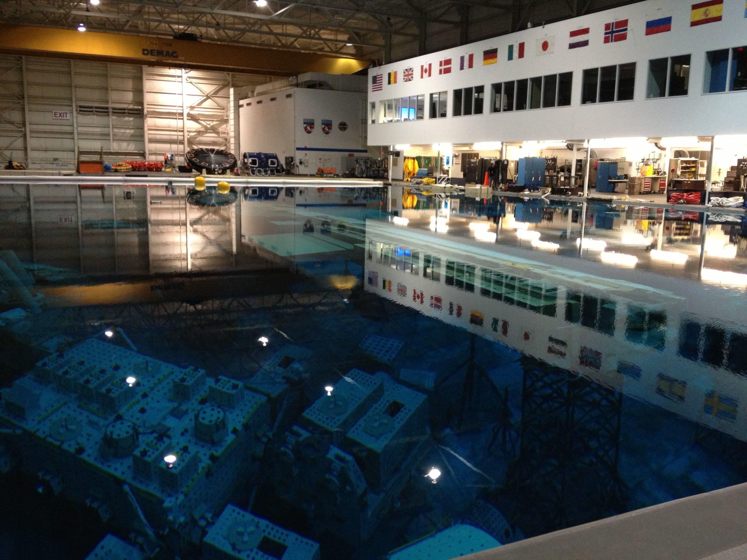 PLRP Ops Test @ NASA Neutral Buoyancy Lab, Texas