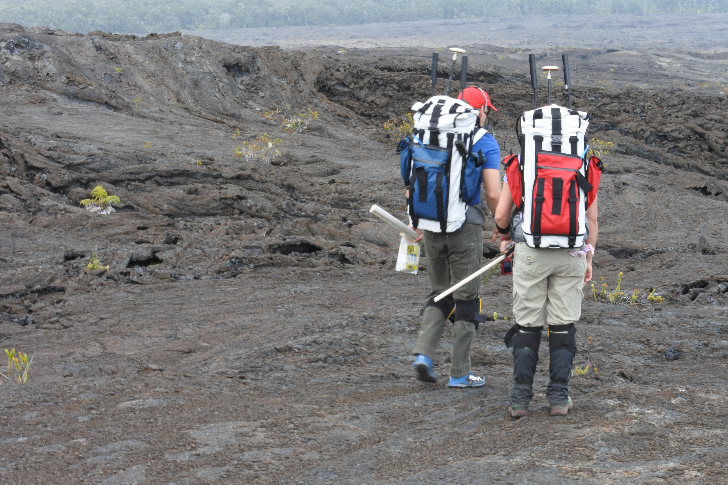 BASALT EVA Team, Hawai`i