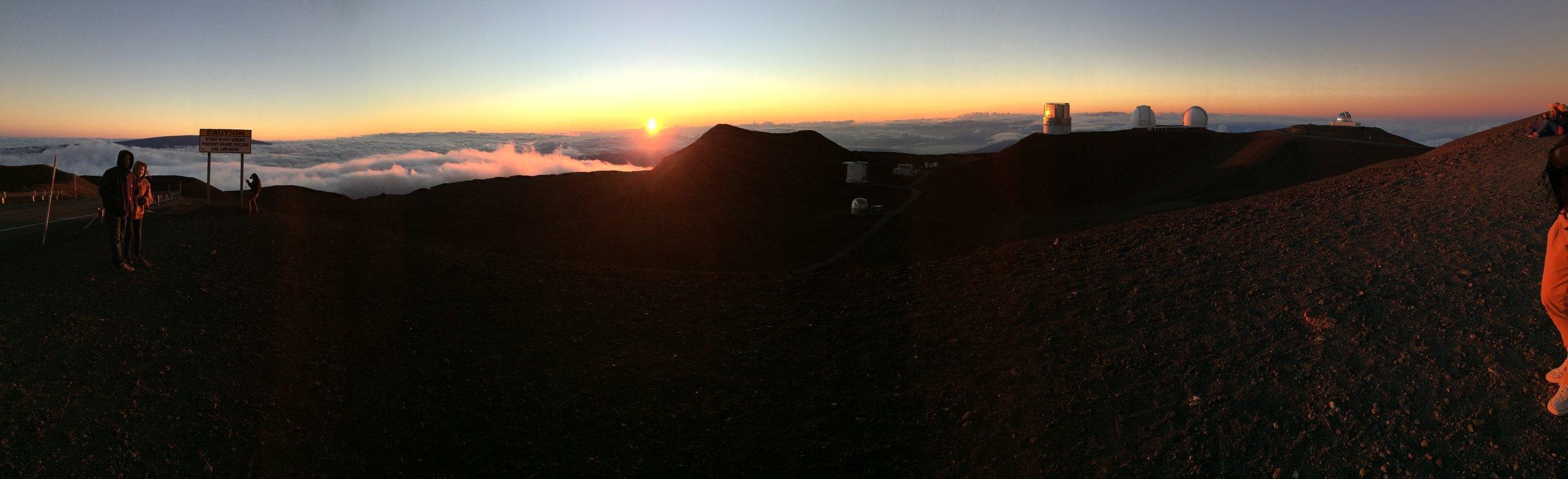 Summit of Mauna Kea, Hawai`i