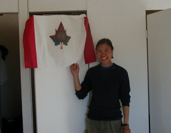 Mars Society Flashline Mars Arctic Research Station - Inaugural crew, July 2000