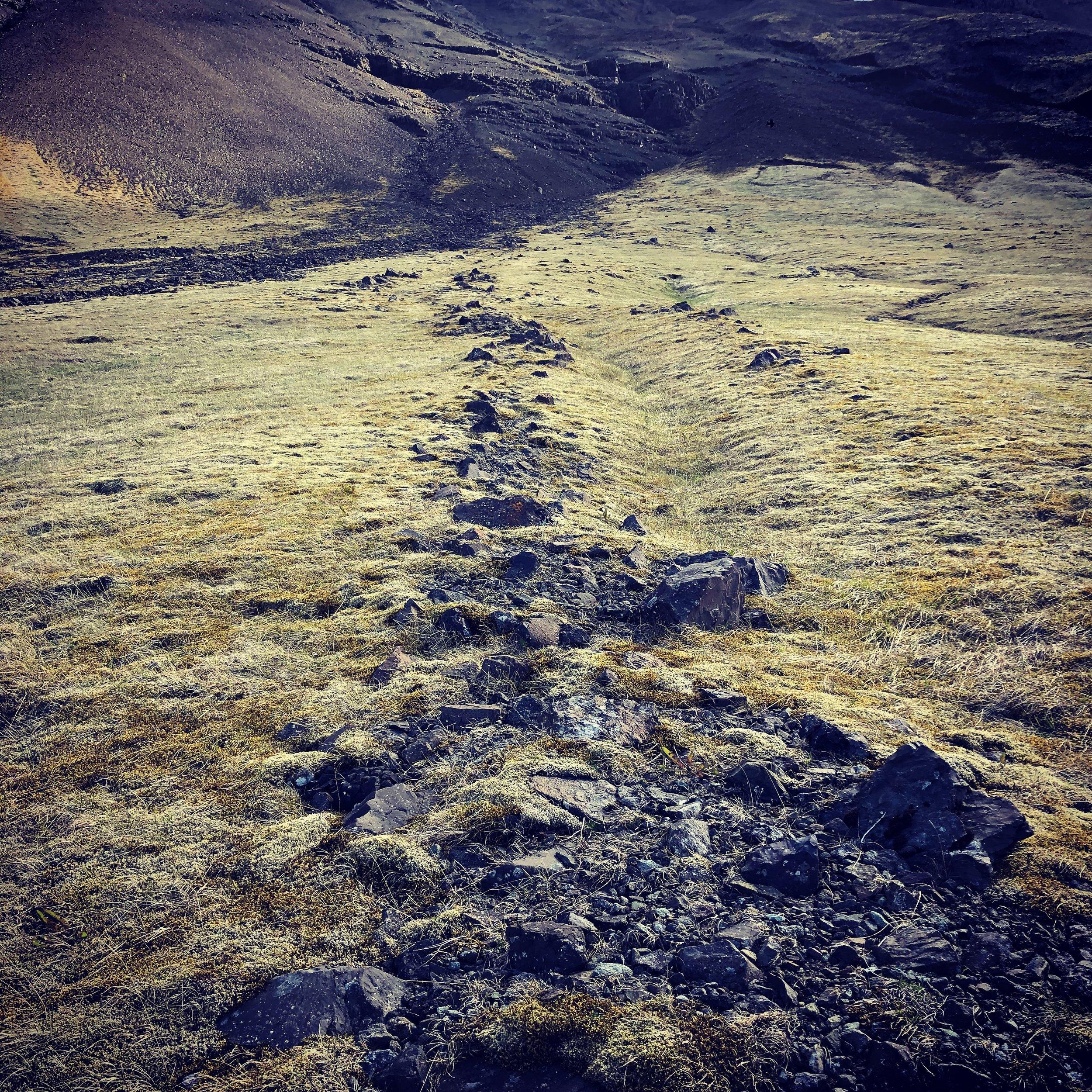 Iceland gullies