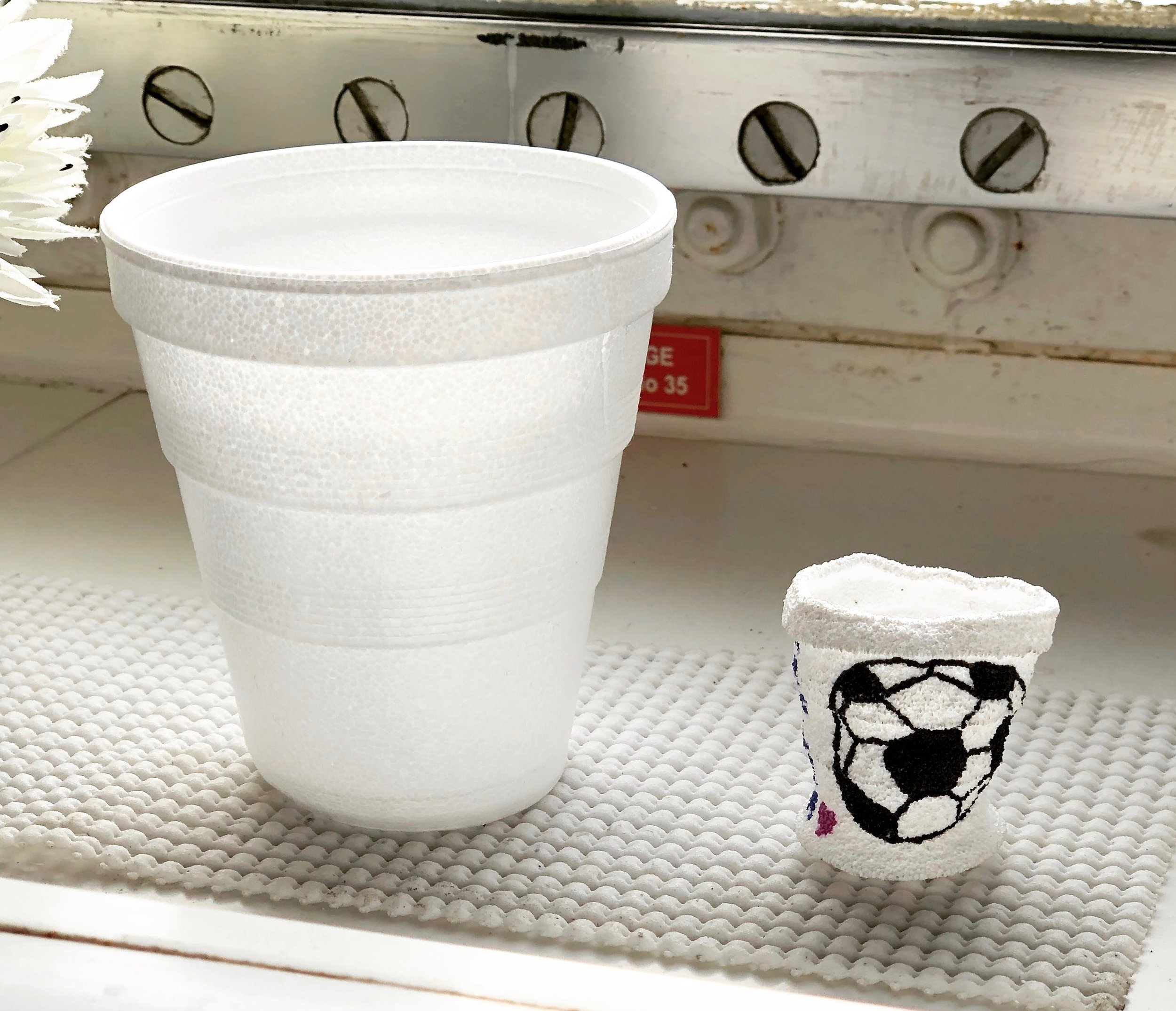 Honey, I shrank this cup!