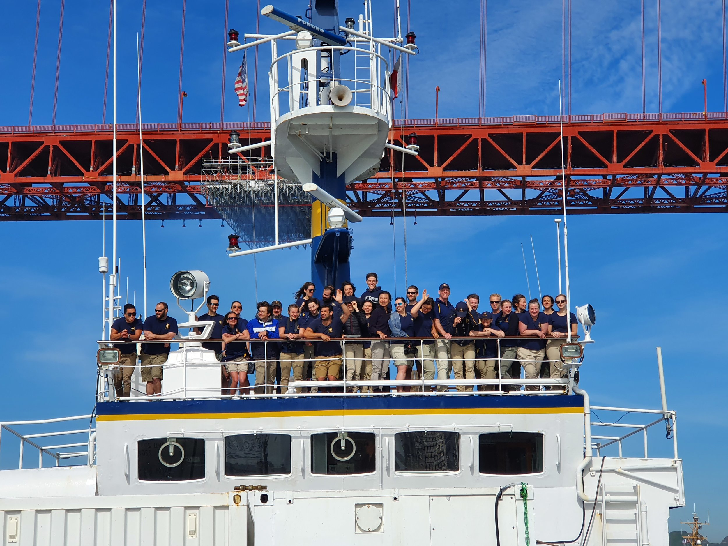 SUBSEA Gorda Ridge Expedition Team