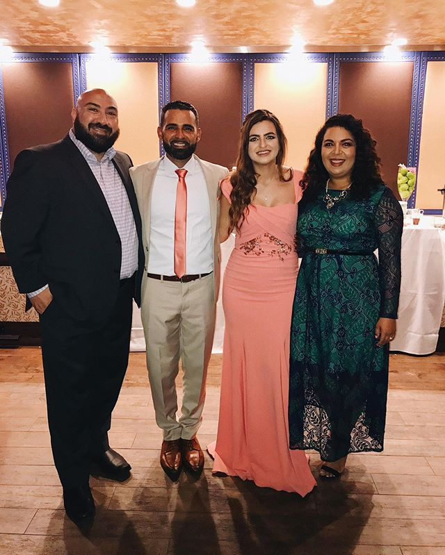 Alf alf mabruk to the beautiful couple! We are so happy for you guys! Welcome to the family habibti! 🥰🥰
