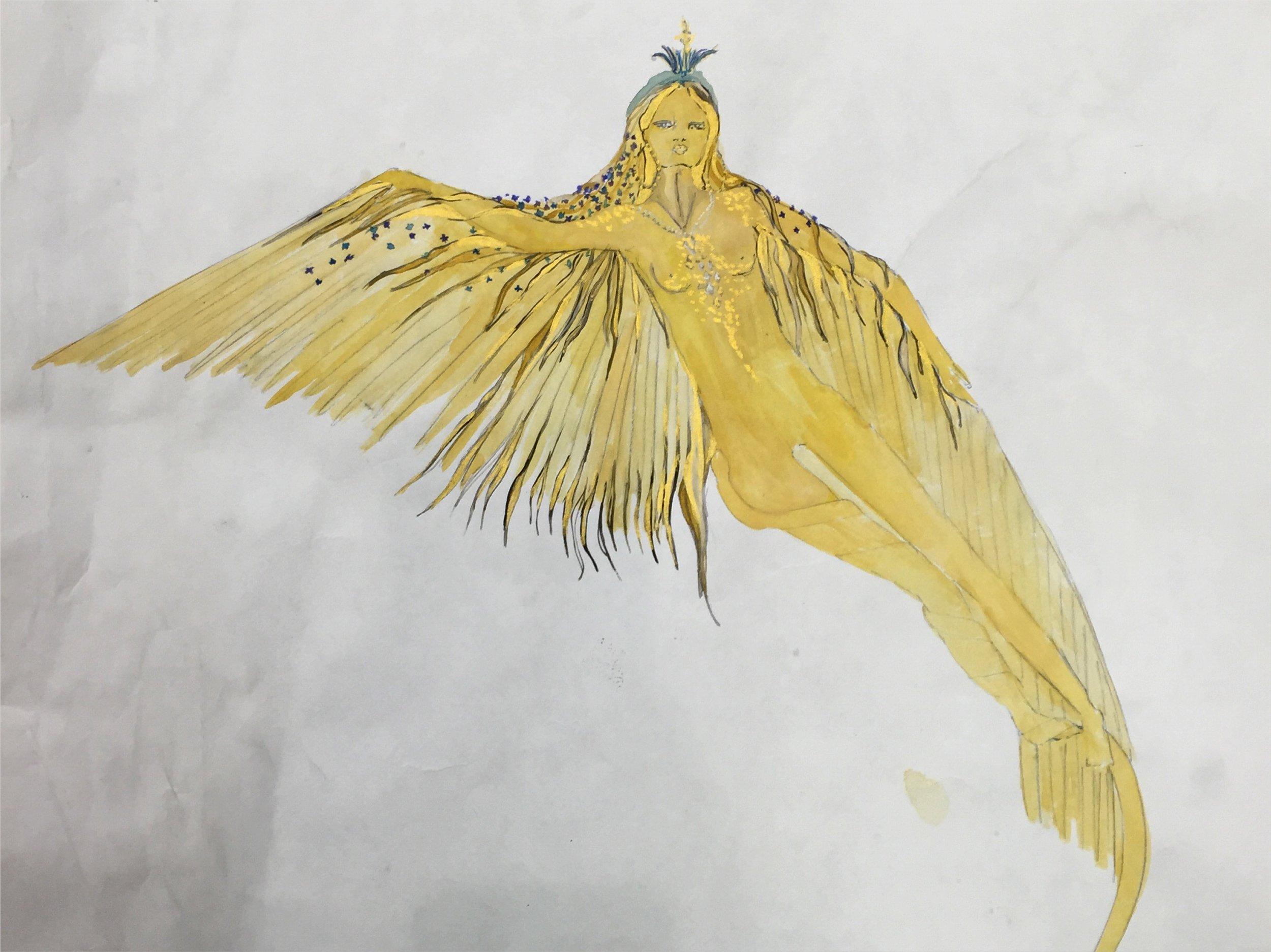 Sketch of Minerva