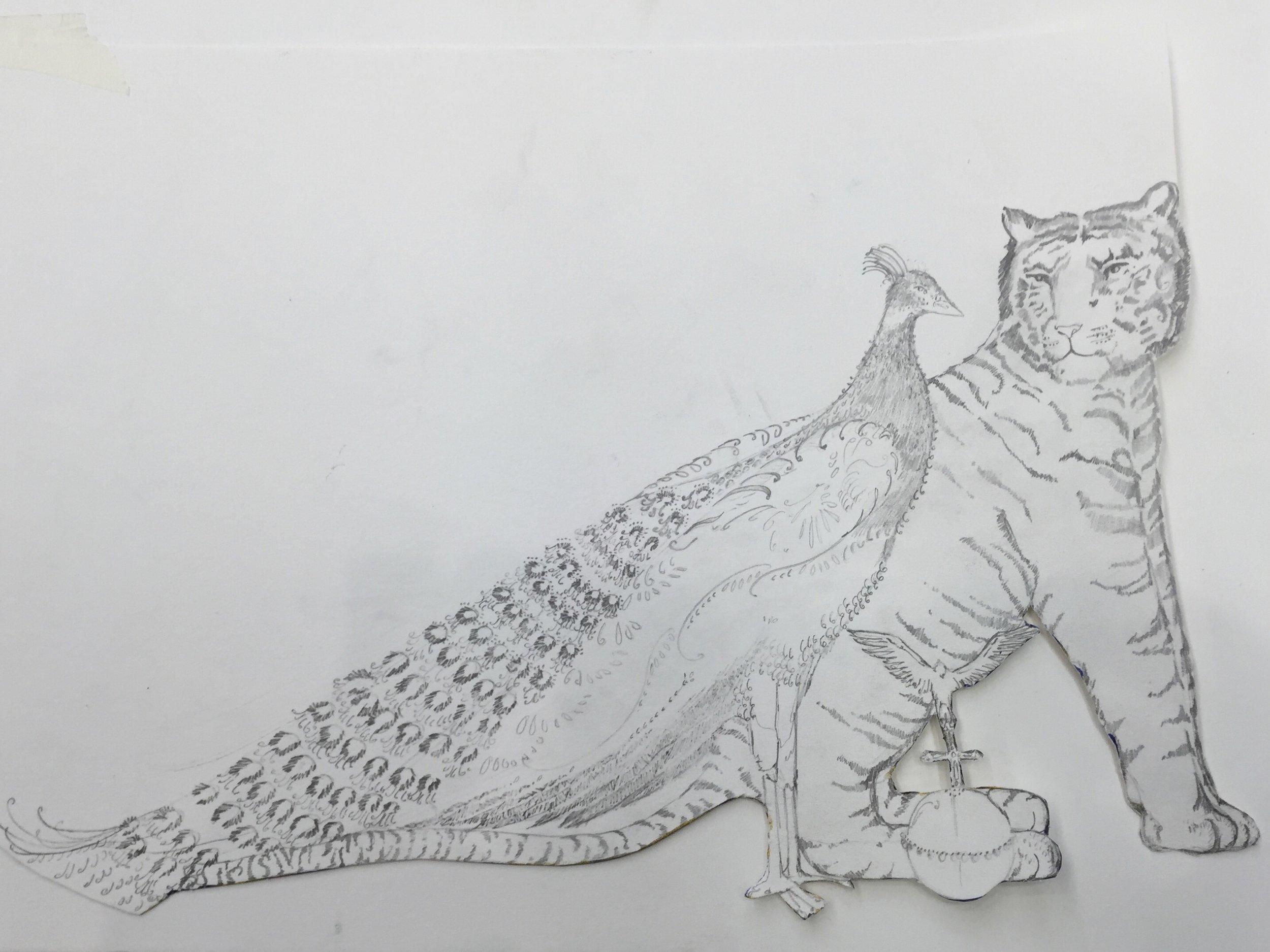 Juno & Jupiter sketch