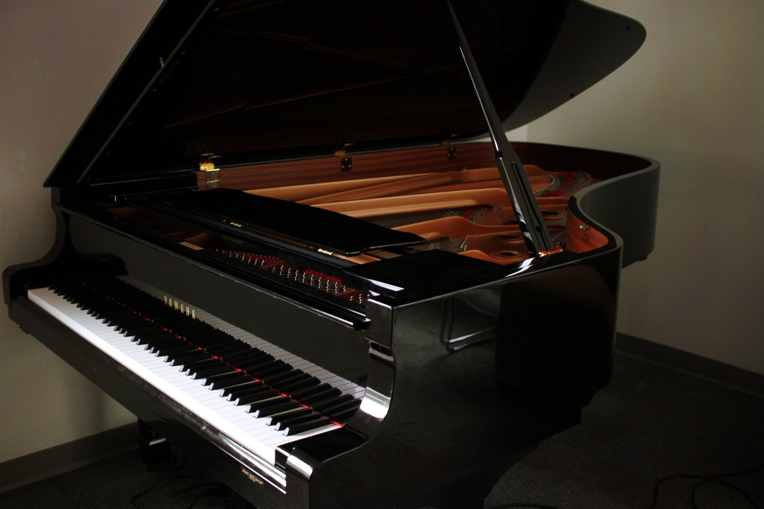 The Yamaha Grand Piano was purchased for the Charlotte Street Arts Centre over a decade ago.
