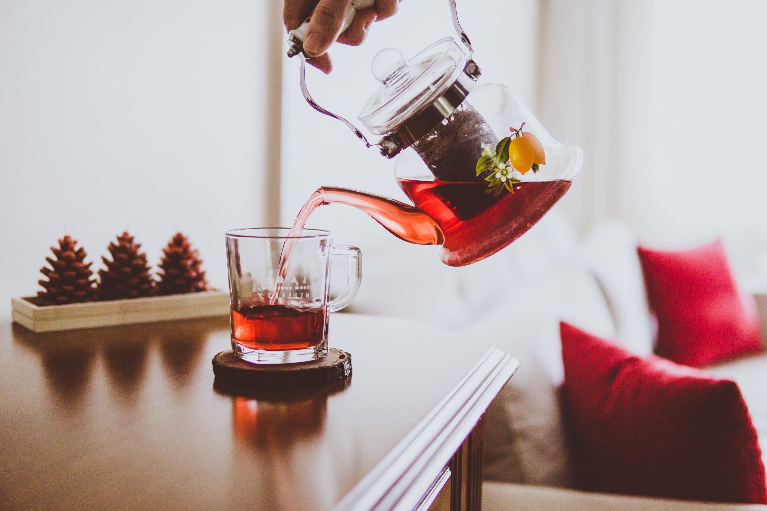 Berry-Fennel-Ginger Herbal Tea Recipe