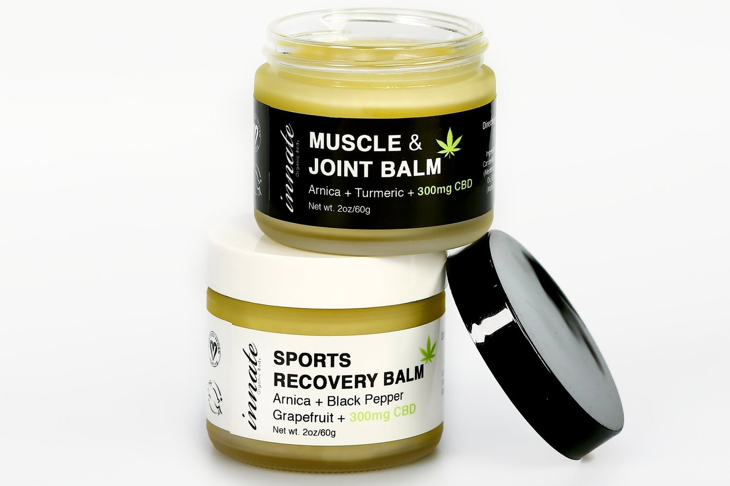 Innate Recovery Balms…you'll feel the relief almost immediately!