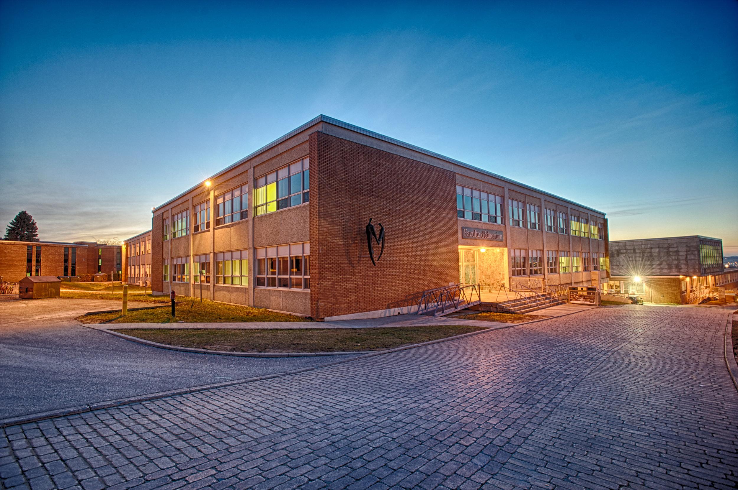 Faculté d'éducation - Université de Sherbrooke