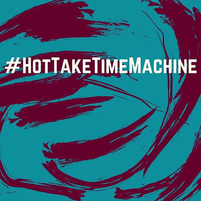 🚨🚨🚨🚨🚨It's the #HotTakeTimeMachine🚨🚨🚨🚨🚨! Be sure to subscribe  on iTunes and don't forget to leave us a review! We may read the best ones on air! #SmallTakes