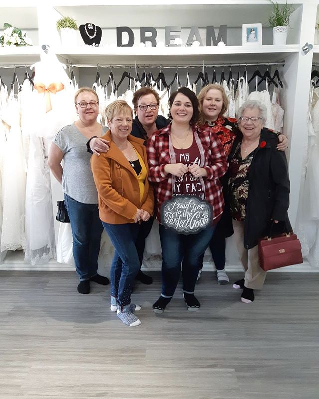 Congratulations to our beautiful bride to be Laci in finding her gown with us yesterday :) and congratulations to her mom in also finding her gown