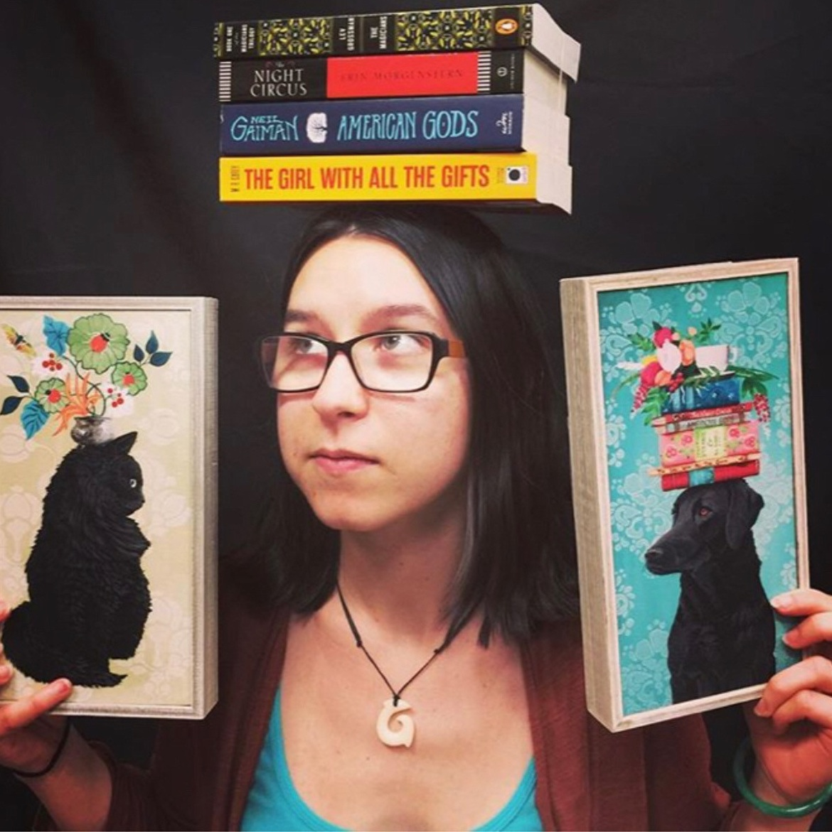 Leah - While awaiting the arrival of my Hogwarts letter I like to travel to other countries (50 so far), play with my cat, Darrow, and read books to escape the real world. From a young age, sci-fi and fantasy have been my go-to genres….